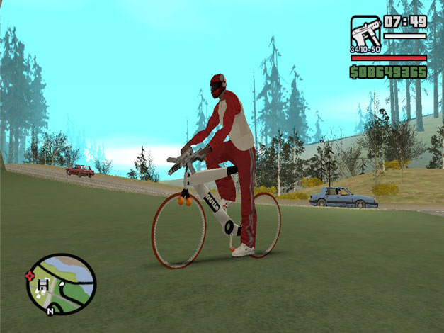 Nulla bike GTA San Andreas