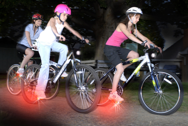 Pedalite, pedales lumineuses tuning