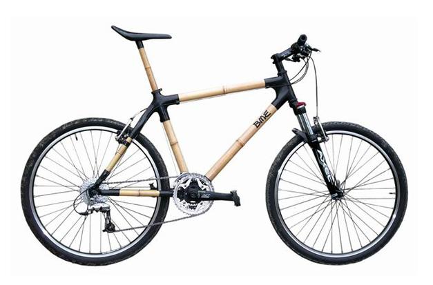 Velo design carbone et bambou