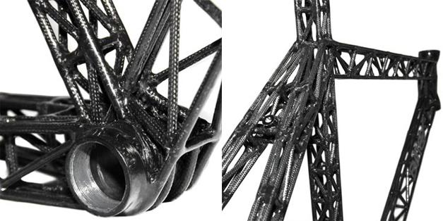 Cadre de velo tour Eiffel