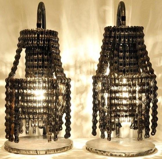 Connect, chandelier artisanal de Carolina Fontoura