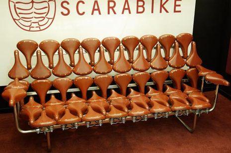 Canape en selle de velo Scarabike