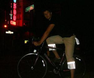Pantalon velotaf pour la nuit