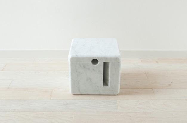 Cube en marbre