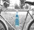 Accrocher une bouteille eau au cadre velo