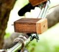 Lumiere en bois pour velo