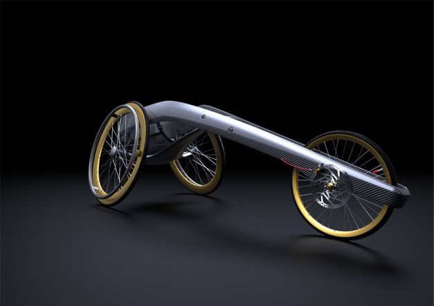 Wheelchair design by Andrew Mitchell