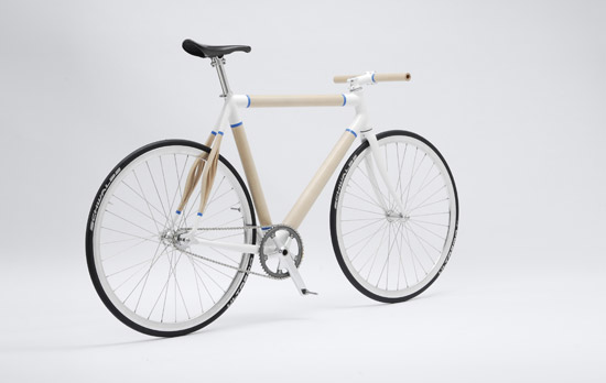 Woodway bicycle prototype