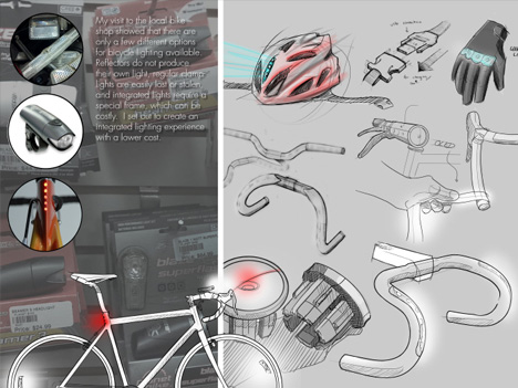 Bicycle sketching ideation