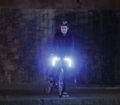 Guidon lumineux a LEDs pour velo