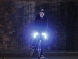 Guidon lumineux a LEDs pour velo