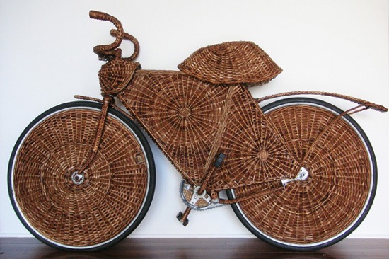 Jarbas Lopes bicycle art