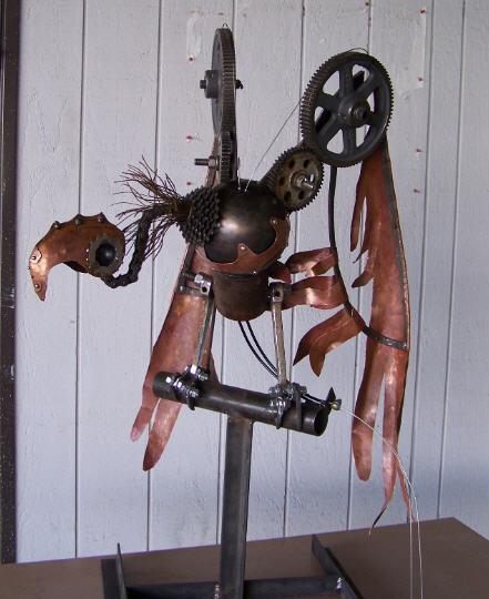 Vautour steampunk velo