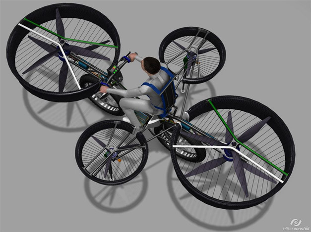 Duratec Bicycles flying bike