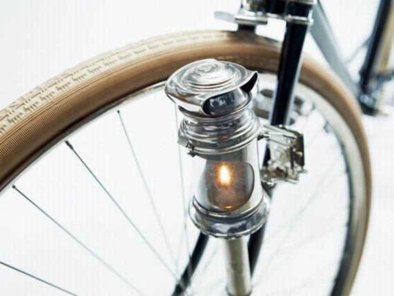 Lumiere bougie de velo Candlelight