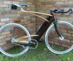 Ken Stolpmann wood bike