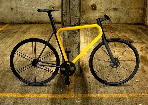 Pulse urban bike Teague design