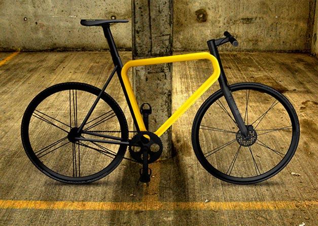 Pulse urban bike Teague design