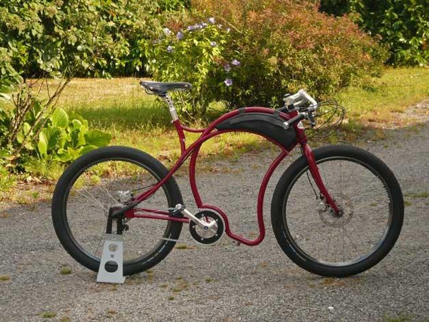 Bicyclette francaise sur mesure