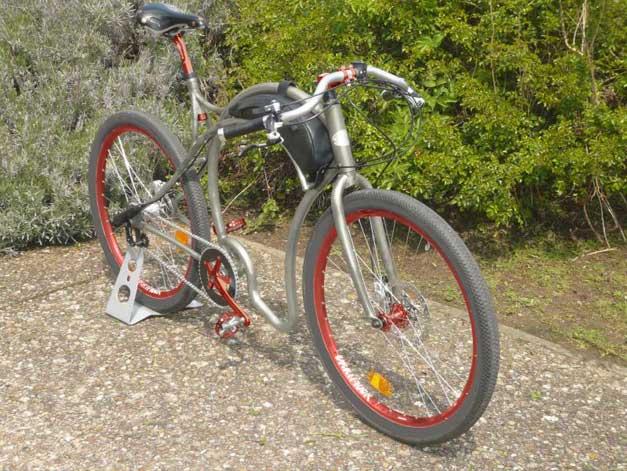 Boardtrack bicycle Cyclea