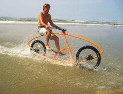 Velo surf dans l'eau