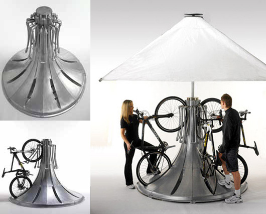 Station de velos verticale Cyclepods