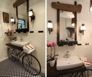 Velo salle de bains