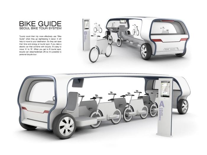 Bus cycliste concept