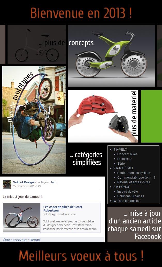 Blog Velo et Design pour 2013