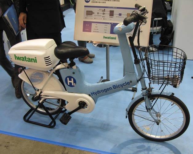 Hydrogen bike