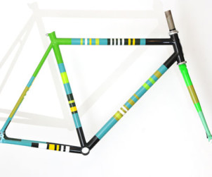 Momentum bicycle painting