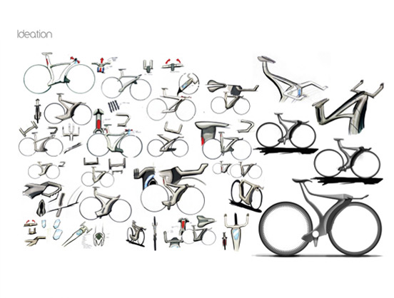 Bike design sketch