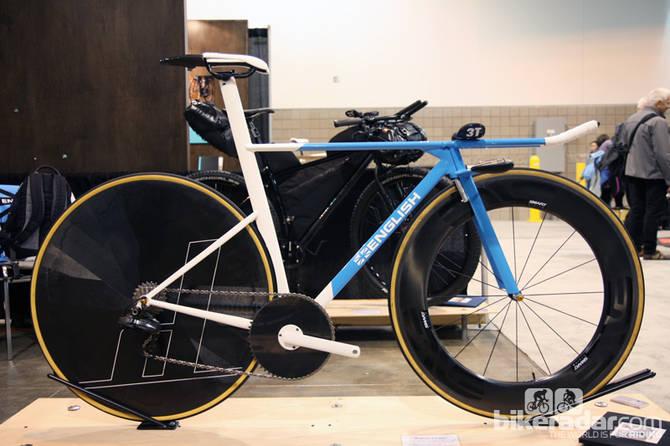 English Cycles TTbike, velo de contre-la-montre artisanal