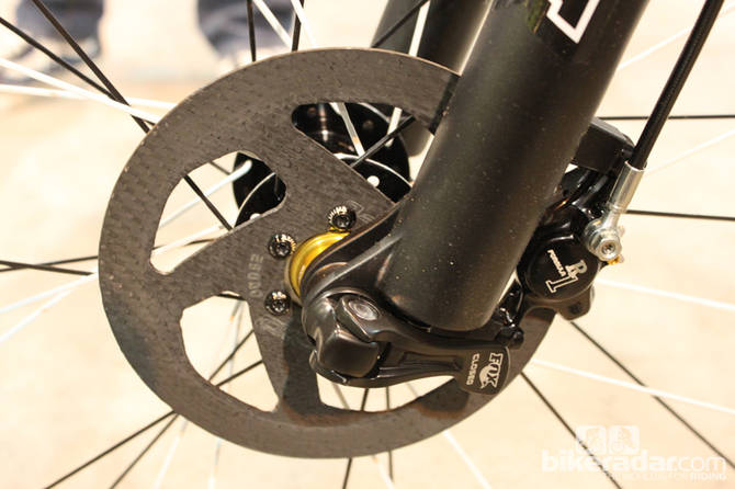 Frein a disque carbone pour velo par Kettle Cycles