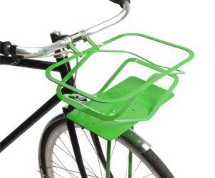 Panier velo pratique vert