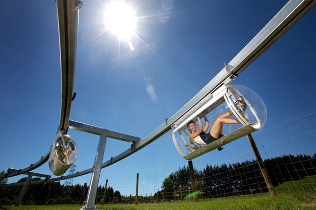 Velo monorail Shweeb