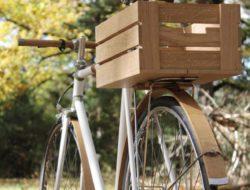 Accessoires en bois pour velo