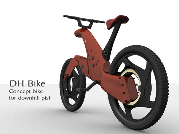 DH bike design