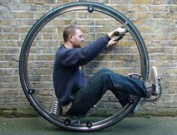 Monowheel bike from Ben Wilson