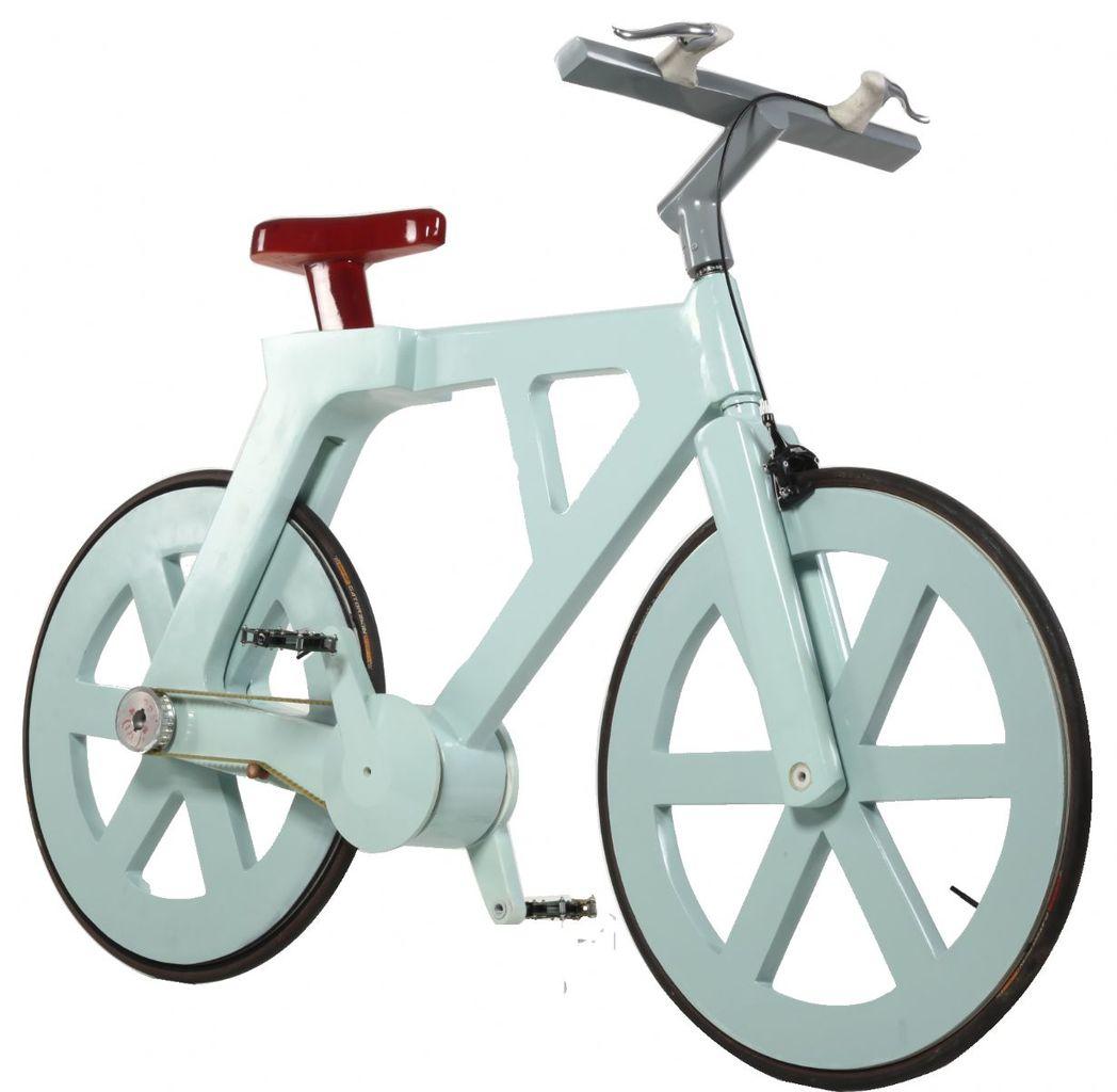 Velo le moins cher au monde, Cardboard Bicycle par Izhar Gafni