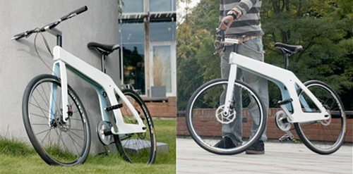 NIM bike, commuting bike design prototype