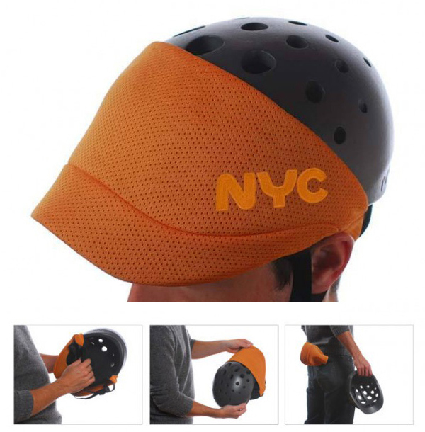 NYC bike helmet design by Fuseproject