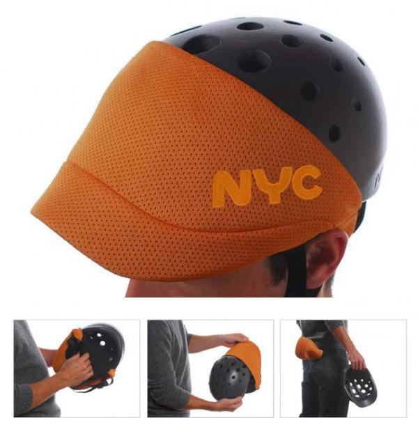 NYC bike helmet design by Fuseproject