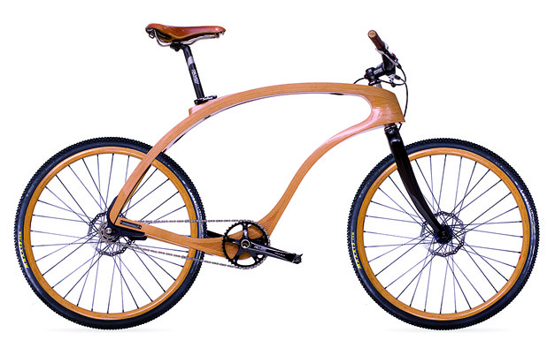 Waldmeister Bike, wooden bike design