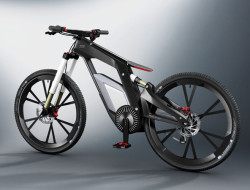Audi e-bike Woerthersee prototype