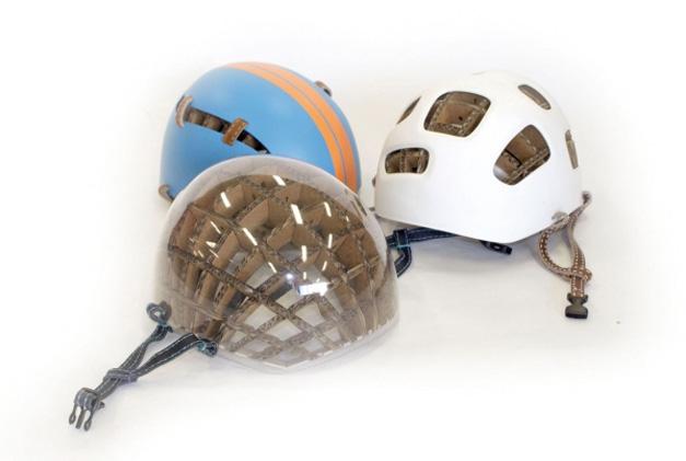Carboard bike helmet Kranium
