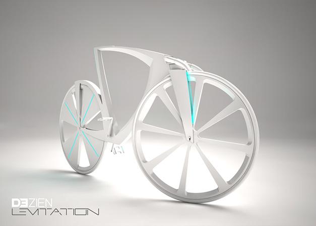 Levitation bike by Michael Strain