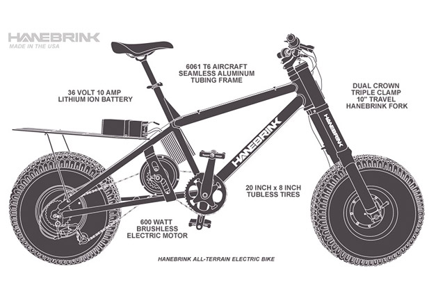 Electric fatbike made in USA