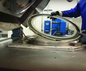 Fabrication de roue de velo en carbone