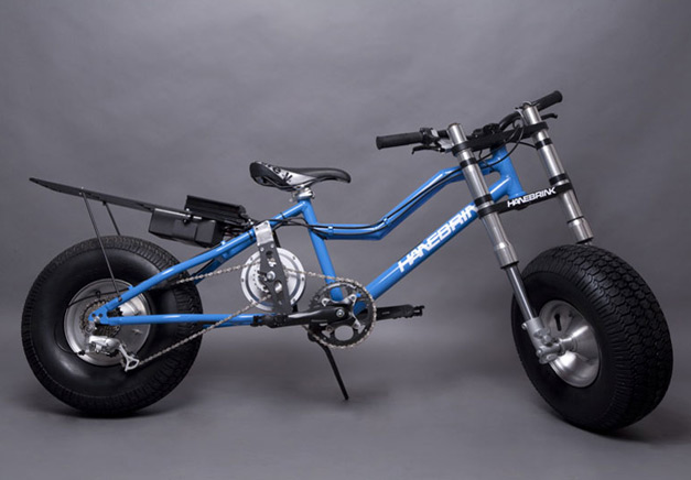 Fat bike electrique Hanebrink